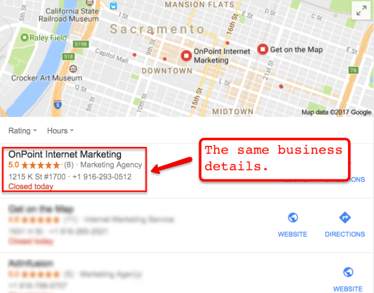 Rank Your Google Maps Listing 2