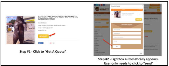 CRO with a popup form to increase conversions.