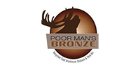 Poor mans bronze brown elk image.